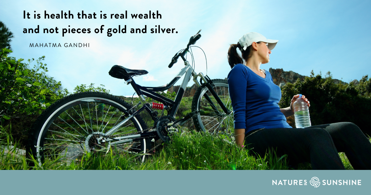 Health is the real wealth