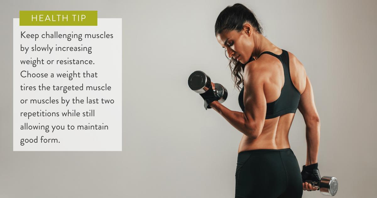 Strength training tip
