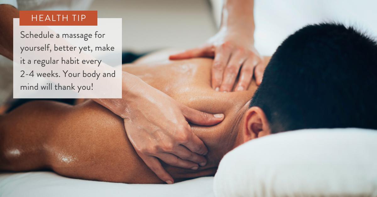 The power of massage