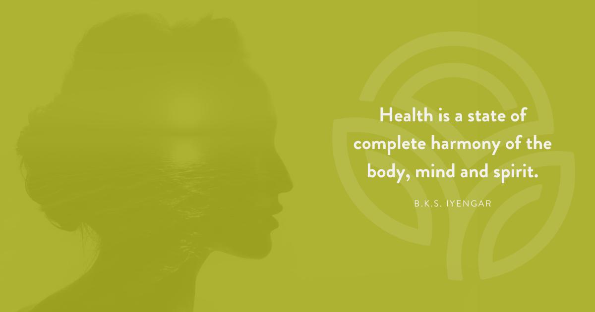 Health is harmony